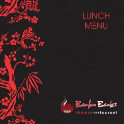 Bamboo Basket Chinese Restaurant Portside Menu Lunch