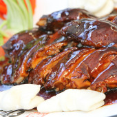 Chicken and BBQ Sauce
